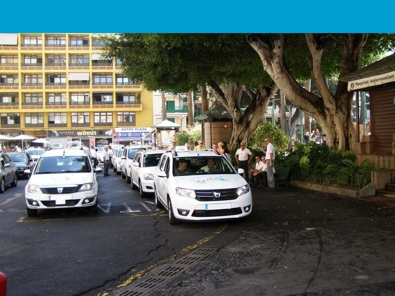 Plaza del Charco - Taxistand